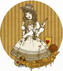 Hansel and Gretel by Heiwa-chan