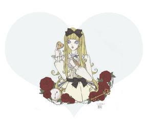 Alice in Wonderland by Heiwa-chan