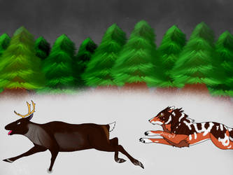Ker Shan 1018 hunting by starkittens