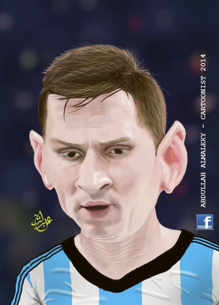 messi by abbod
