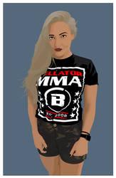 Anastasia Yankova Bellator MMA by Sed4tives