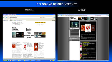 relooking site internet