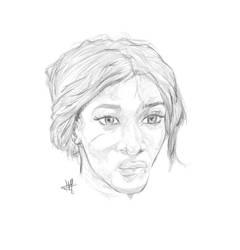 BLACK GIRL PORTRAIT