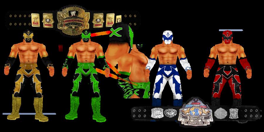 Sin Cara Part 2 WWF No Mercy MOD by VictorVlast94 on DeviantArt