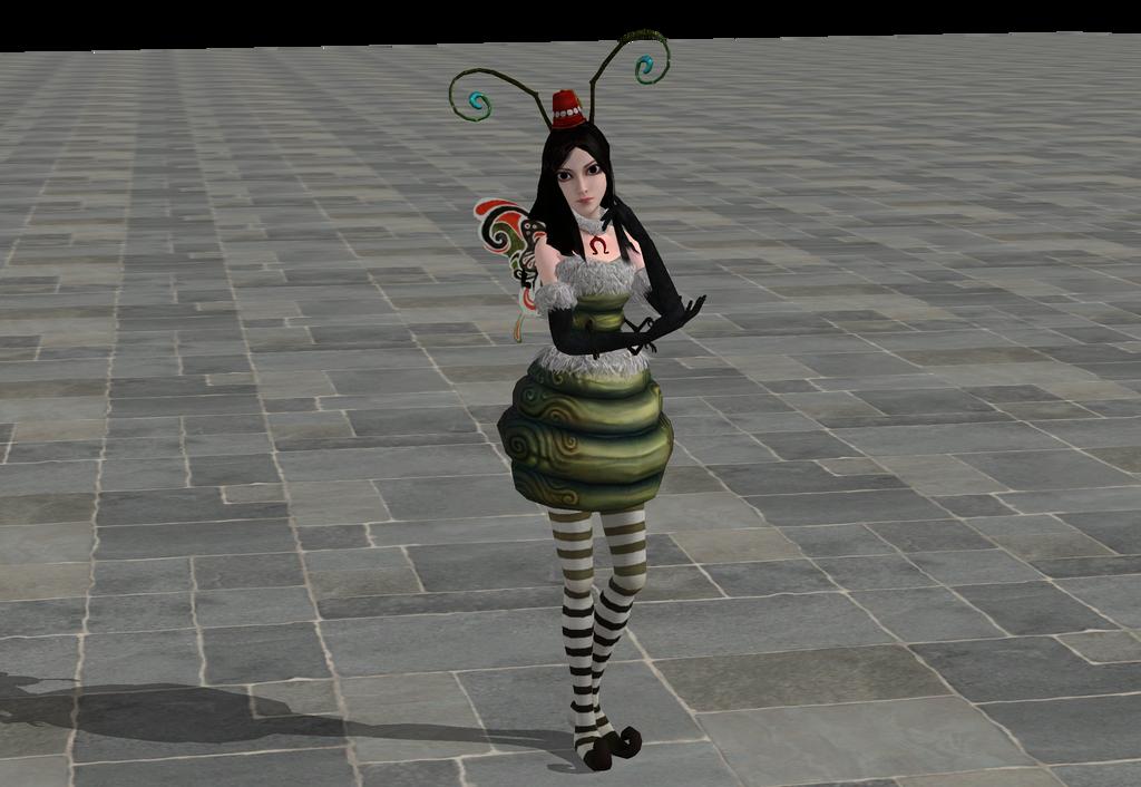 XNALara Alice Caterpillar Model Fixed by VictorVlast94