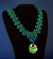 Sea Goddess Necklace by psychicsandswords
