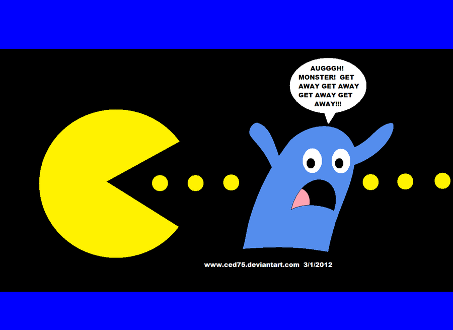 Pacman Deviantart 2019: Bloo Is Not A Ghost, Pac Man By Ced75 On DeviantArt