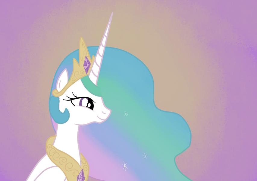 Princess Celestia by Ced75