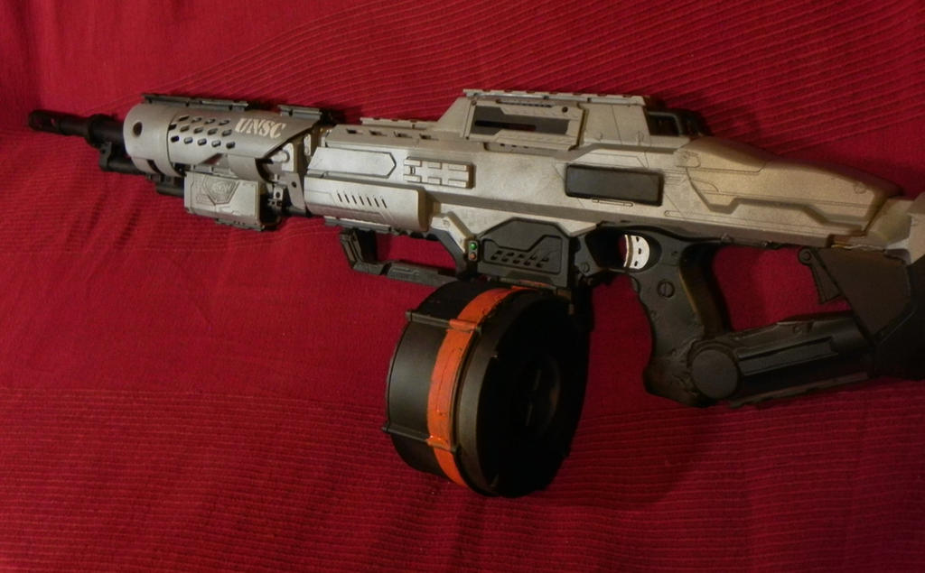 HALO light machine gun, Nerf by Sam-Castle ...