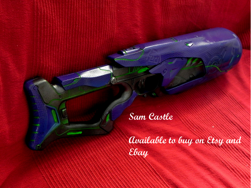 Halo covenant nerf rifle by Sam-Castle ...