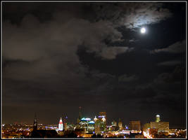 Metropolitan Moonlight by bdusen
