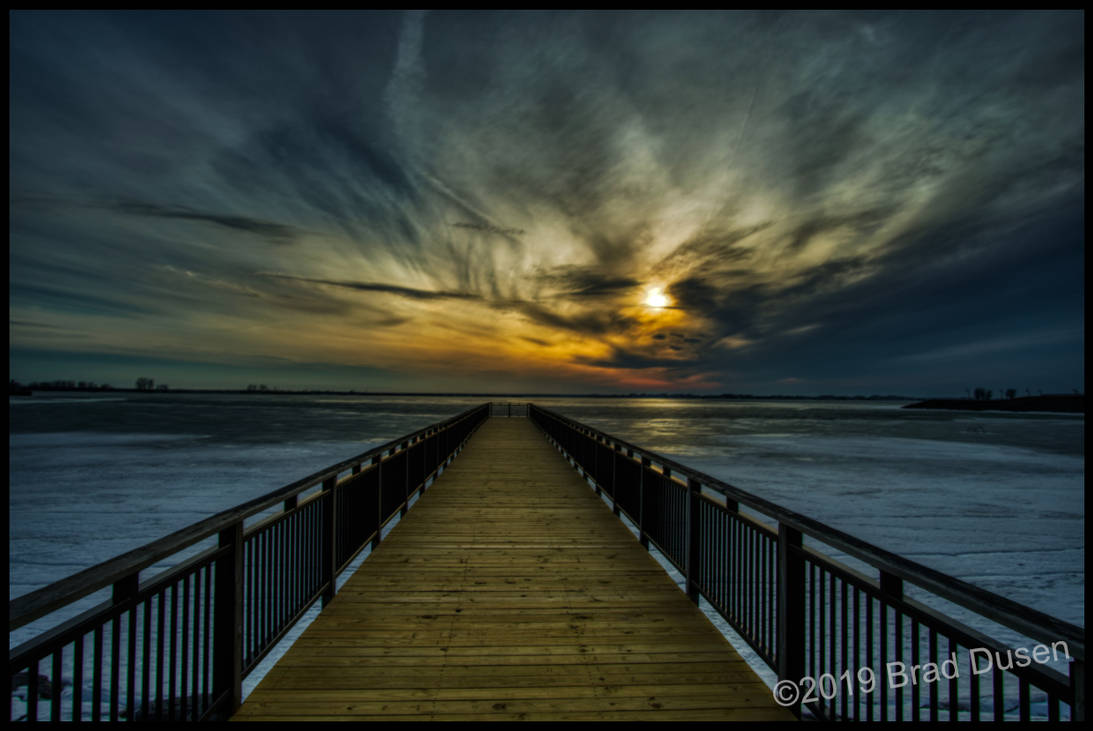 Frozen Pier by bdusen