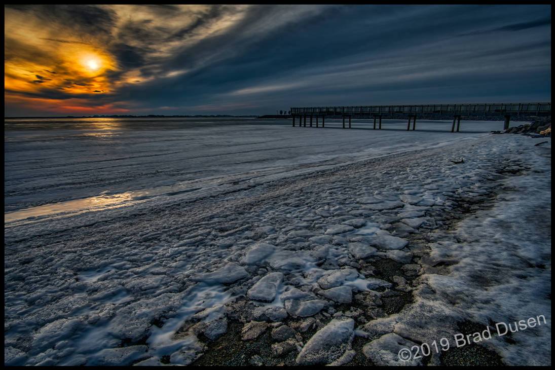 Winter Beach by bdusen