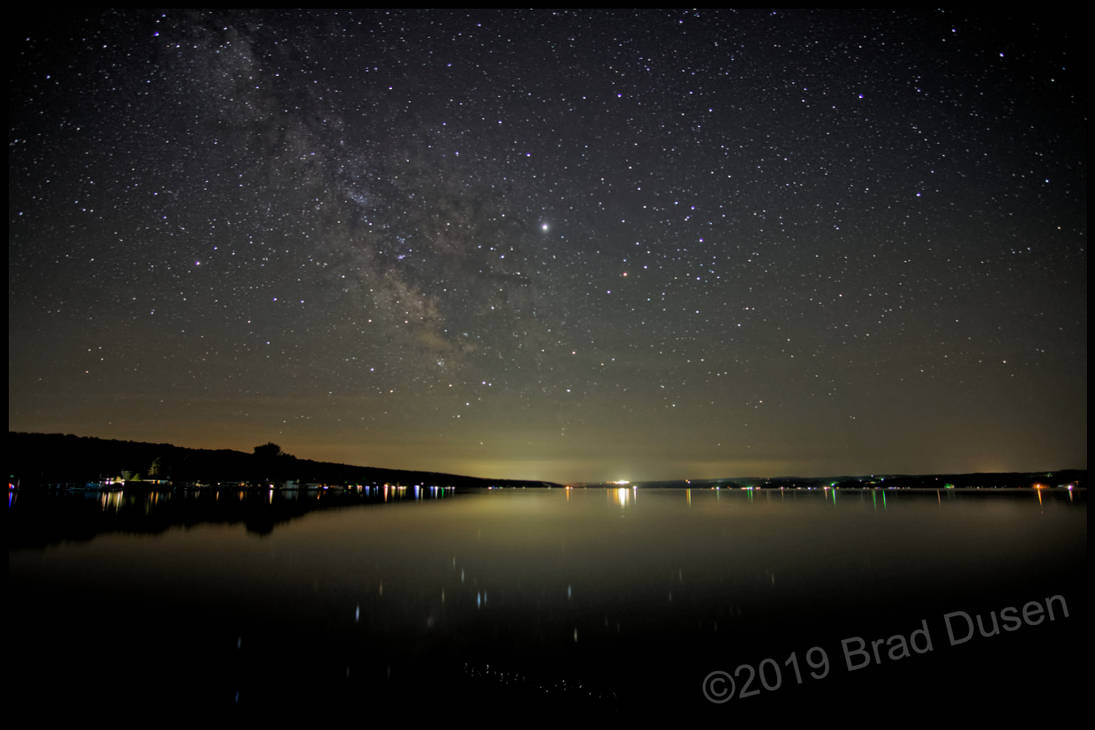 Stars Over Seneca Lake by bdusen