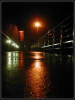 Illuminated Walkway by bdusen