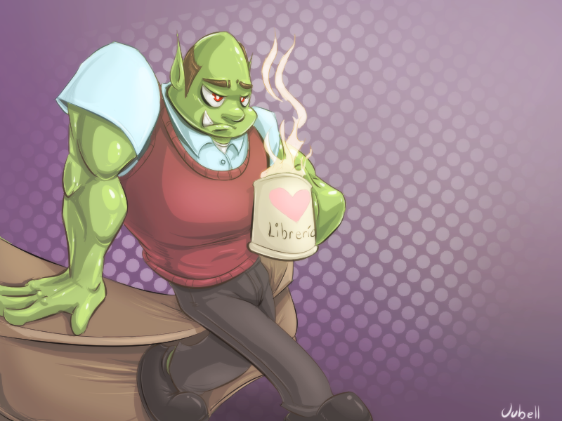Latin American Librarian Orc by Jubell