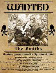 The Smiths Wanted Poster
