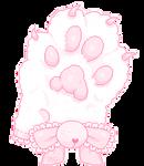 cat paw glove