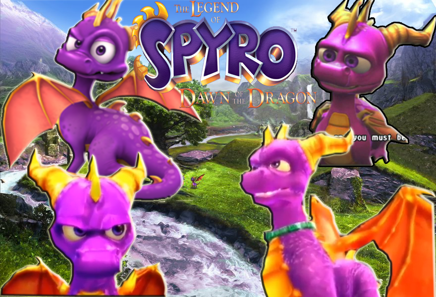 The Legend Of Spyro Wallpaper By Supremalucard78411