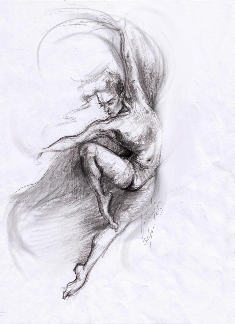 dynamic pose by KateSazonova