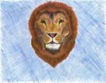 Aslan Drawing by dreaminsapphire
