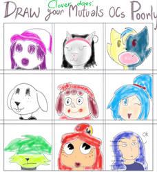 Poorly drawn OCs