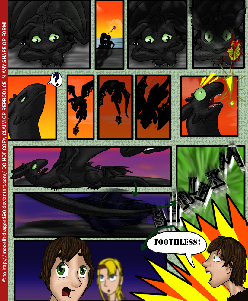 sex in how to train your dragon comic