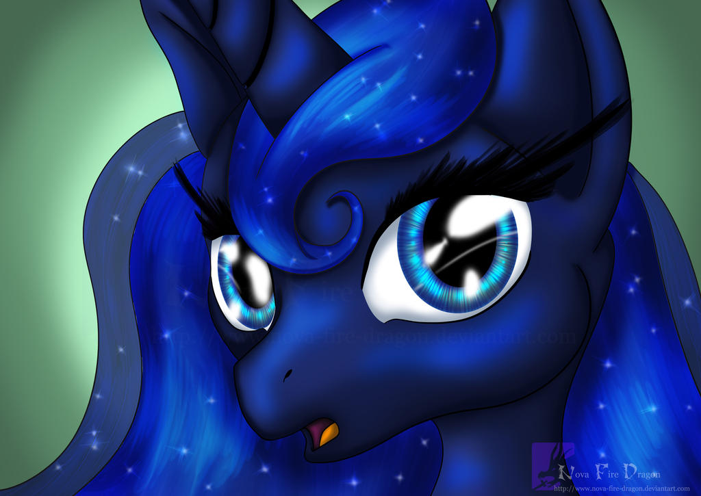 Princess Luna by NovaBrush