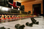 Neve Faders and NS10s