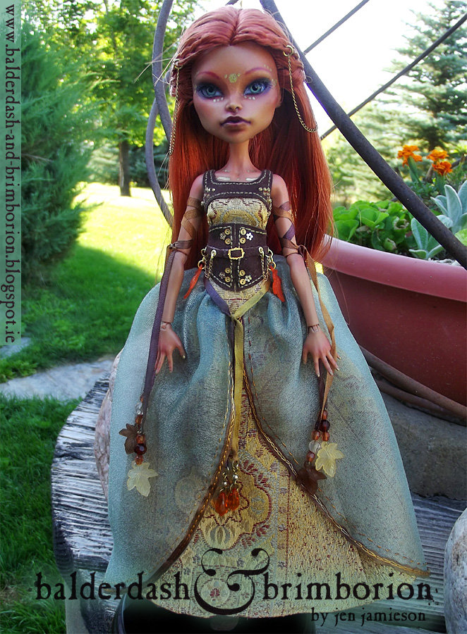Autumn - Monster High doll customization by jen-jamieson