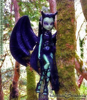 Monster High doll customization commission