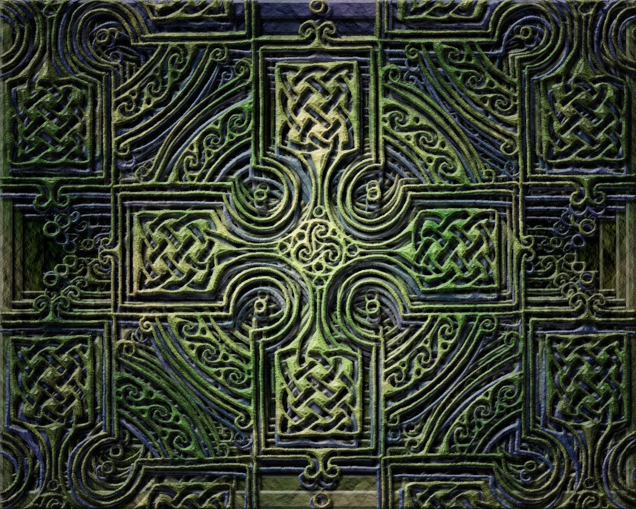 Celtic Cross Wallpaper by jen-jamieson on DeviantArt