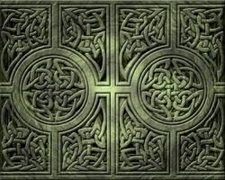 Celtic Knotwork Wallpaper by jen-jamieson