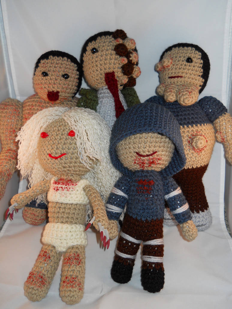 Left4Dead Bloody Infected Set
