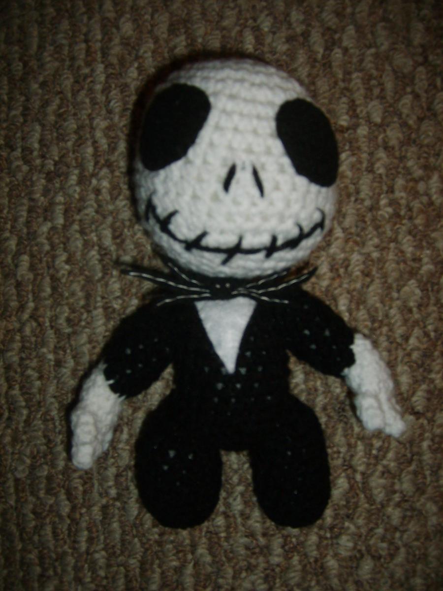 Amigurumi Kangaroo Crochet Pattern : Jack Skellington Sackboy by Crittercre8r on DeviantArt