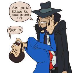 Damn it, Lupin! by Loopawn