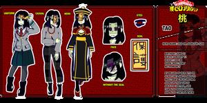 boku no hero academy OC-Tao Or jiangshi-san by otaku-chan22