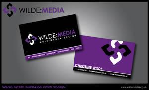 Wilde Media Business Cards