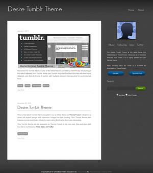Desire Tumblr Theme
