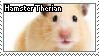 Hamster Therian- STAMP by RottenStamps