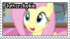 Fluttershykin - STAMP by RottenStamps