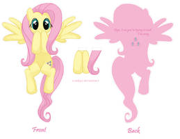 Fluttershy Bookmark by xcmkyx