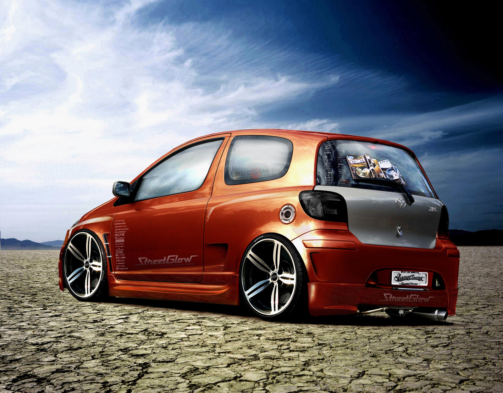 toyota yaris tuning by janotech on deviantart. Black Bedroom Furniture Sets. Home Design Ideas