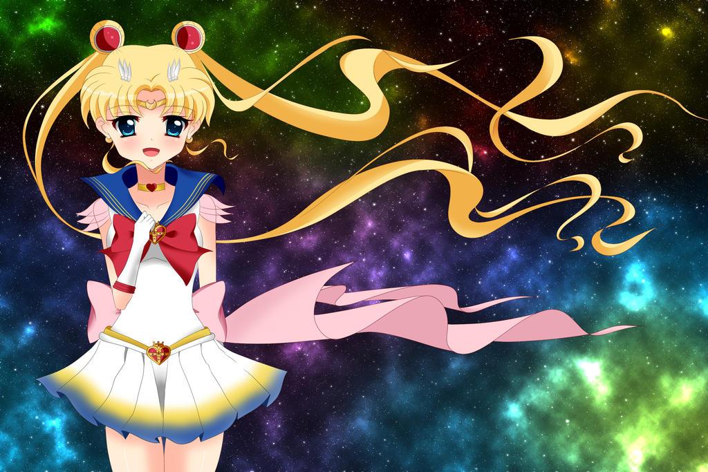 Super Sailor Moon by kotakkun