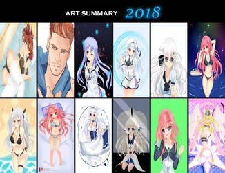 2018 Art Summary by kotakkun