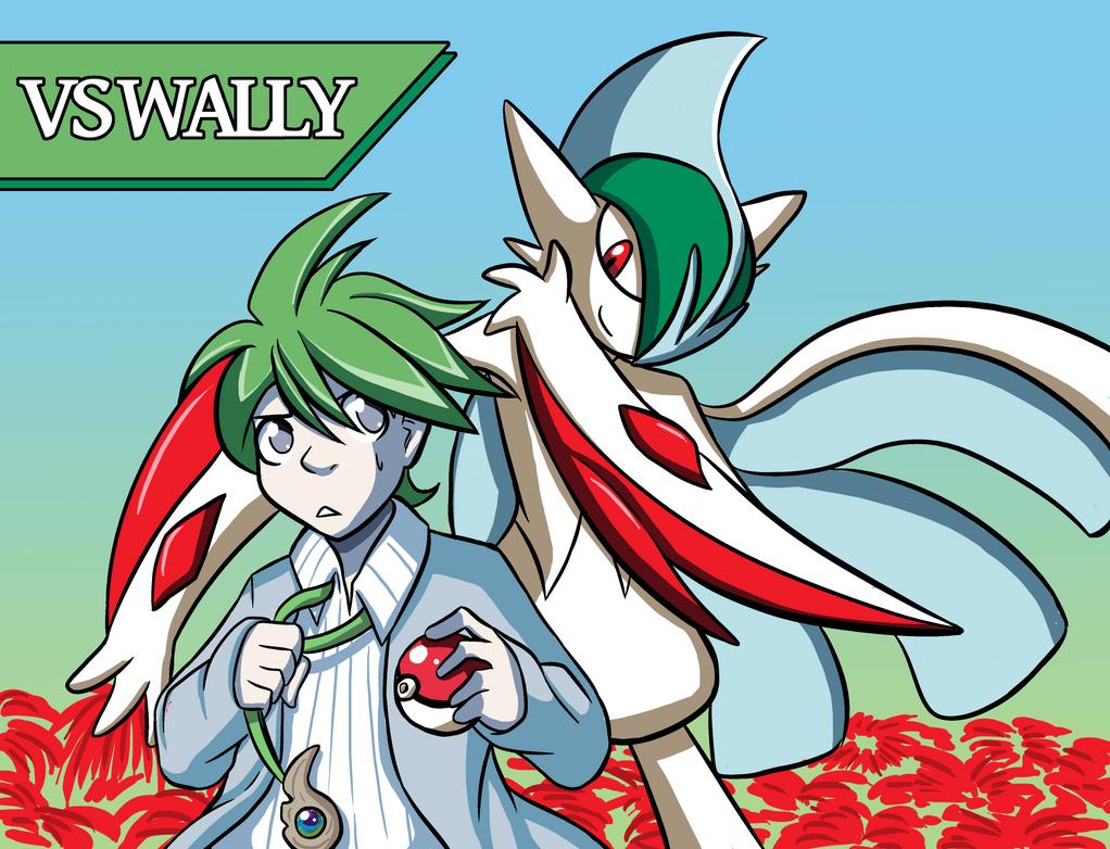 Wally & Gallade by Rogo-the-Golden-Boy