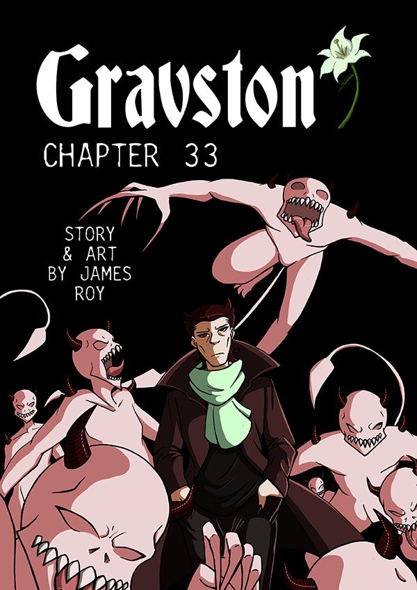 Gravston Chapter 33 Cover by Rogo-the-Golden-Boy