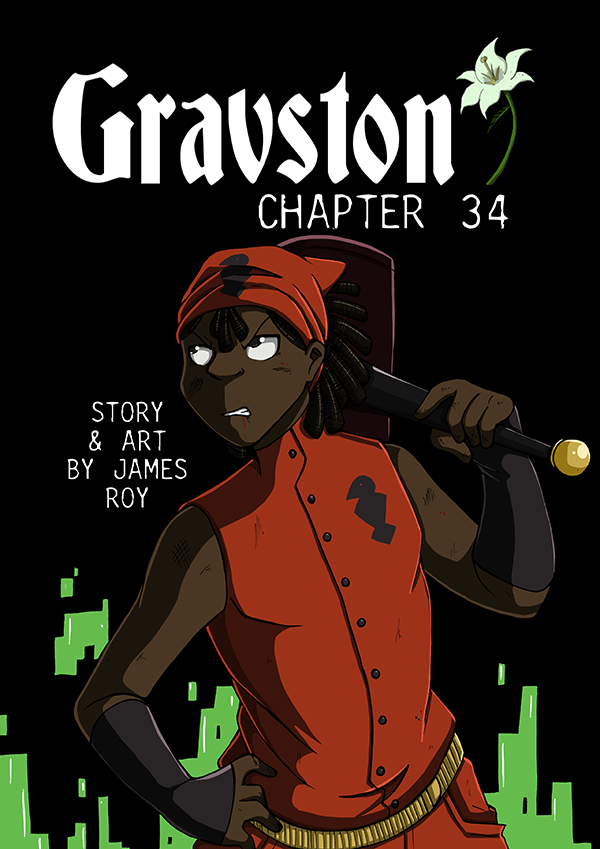 Gravston Chapter 34 Cover by Rogo-the-Golden-Boy