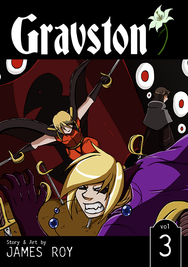 Gravston Volume 3 Cover by Rogo-the-Golden-Boy