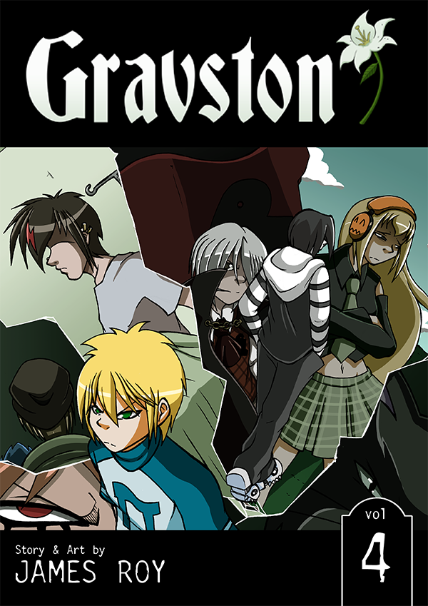 Gravston Volume 4 Cover by Rogo-the-Golden-Boy